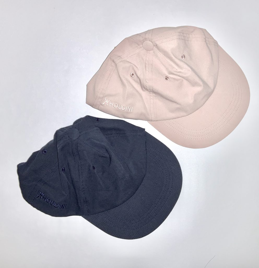 HOUDINI Daybreak Cap ¥6,500+tax(パウダーピンクとブルーの2色)