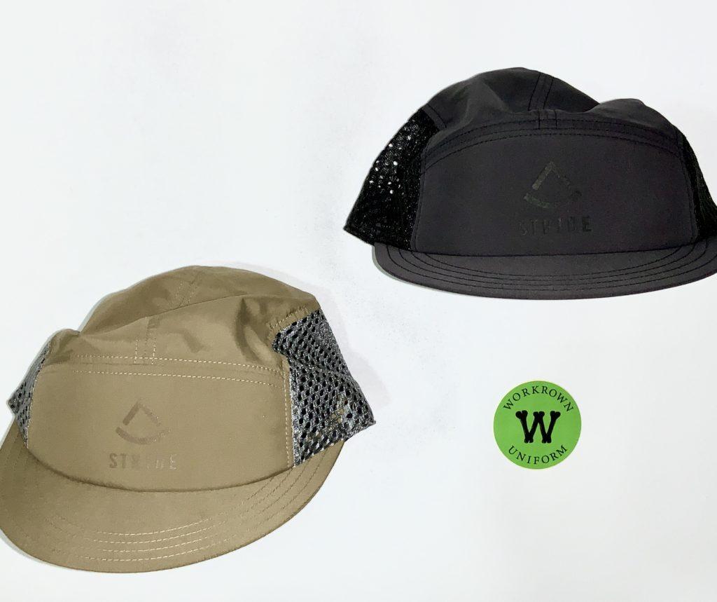 WORKROWN STRIDE CAP (コヨーテ、ブラックの2色)¥5,500+tax